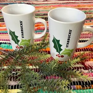 Starbucks ~ Set of 2 mugs